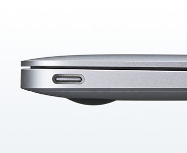 USB Type-Cのパソコン側端子の形状