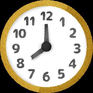 眠気に注意する時間帯・寝ない方がよい時間帯
