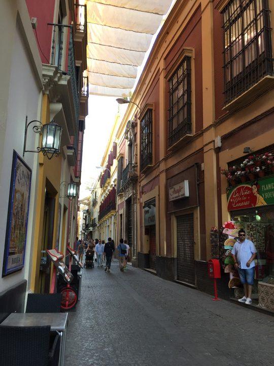 スペイン観光:セビリア市街地