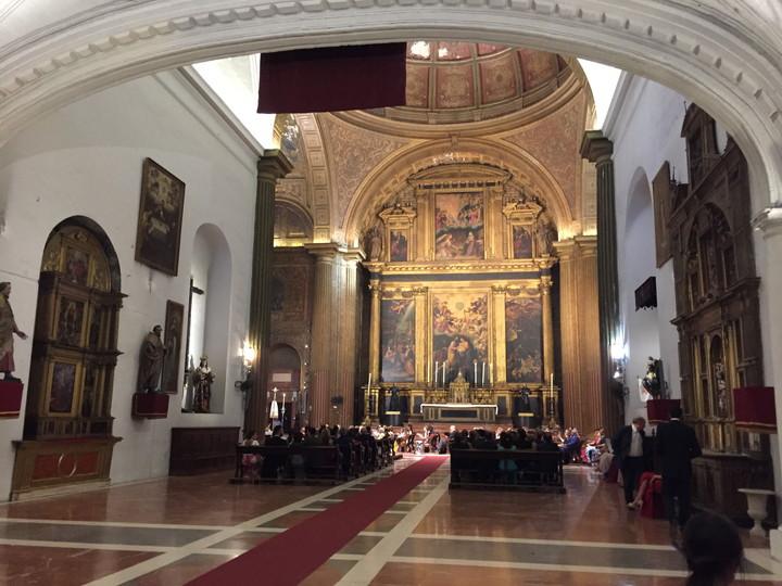 スペイン旅行:セビリア ちょっと立ち寄ってみた教会