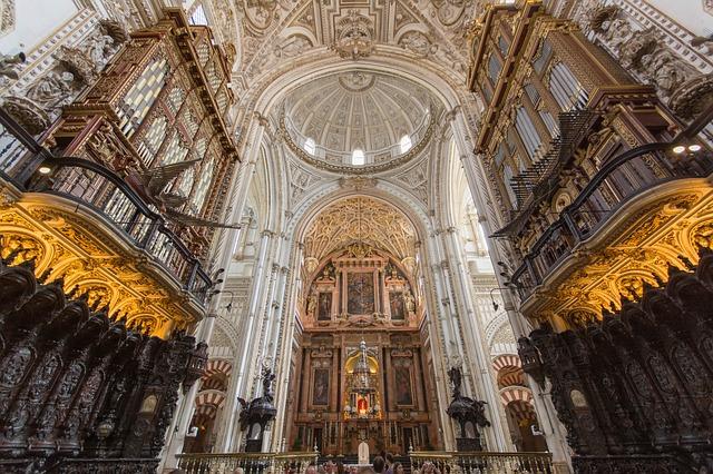 スペイン コルドバ メスキータ 中央礼拝堂 荘厳な空気が流れる