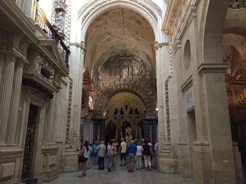 スペイン コルドバの世界遺産メスキータ内 大聖堂