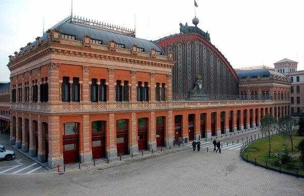 スペイン アトーチャ駅