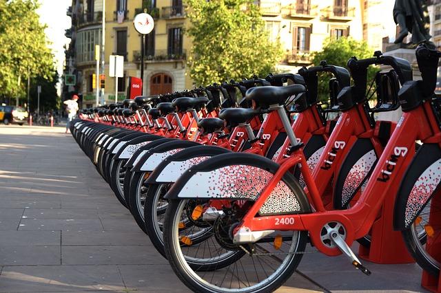 バルセロナのシェアサイクル ビシング=Bicing