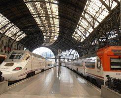 スペイン国内移動は鉄道で!マドリード「アトーチャ駅」から始まる鉄道周遊旅の移動時間は?