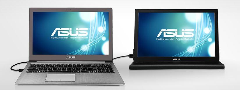 手軽に持ち運ぶ 15.6型USBディスプレイ