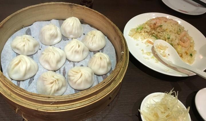 台北の有名小籠包店「高記」でディナー