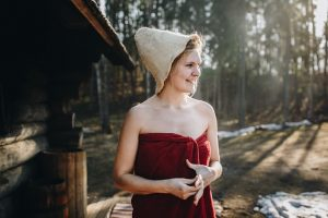 フィンランドのサウナ:外気浴