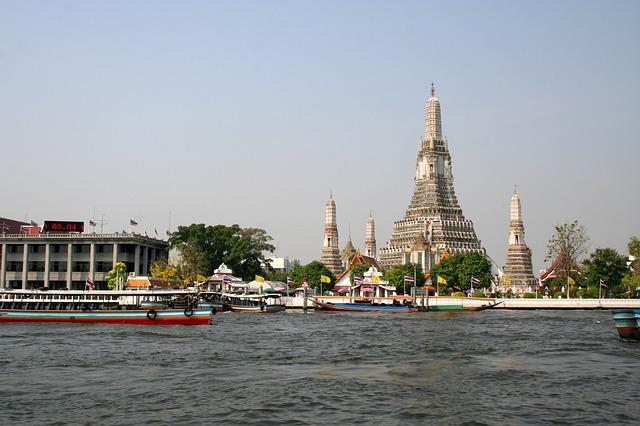 タイ旅行 暁の寺 ワット・アルン