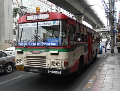 カオサン行きローカルバス 59番