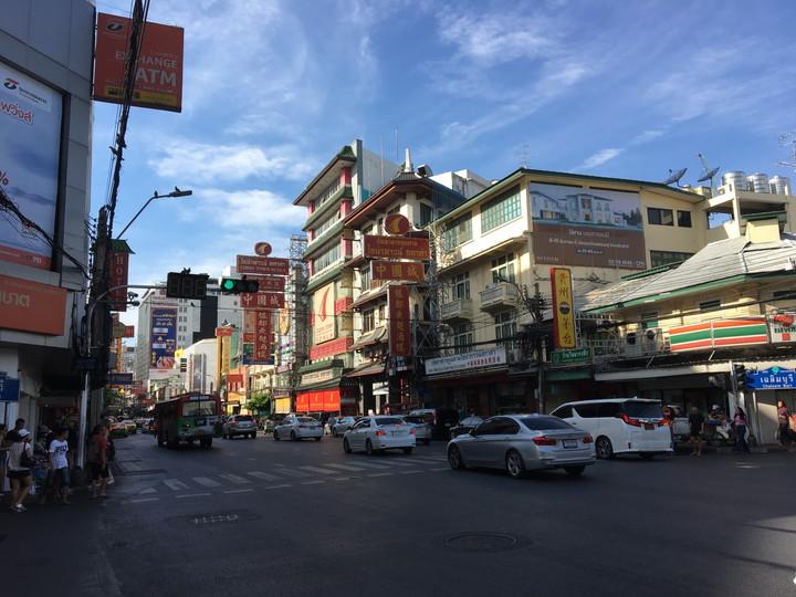 タイ旅行 チャイナタウン