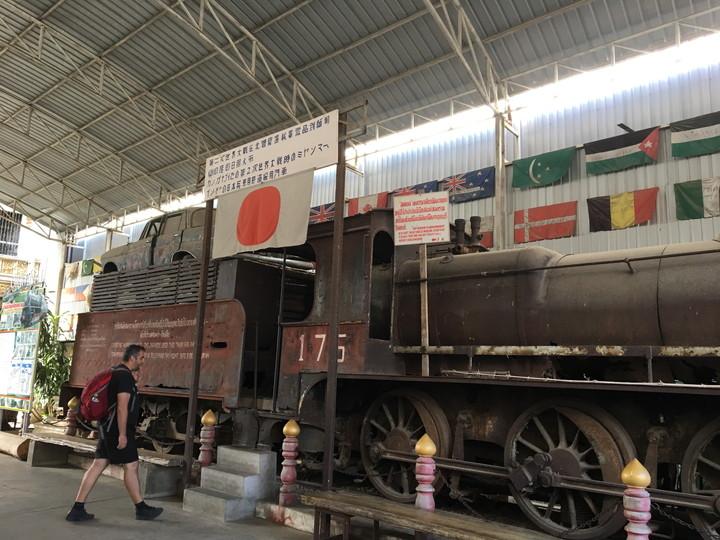 カンチャナブリ 第2次世界大戦博物館を見学