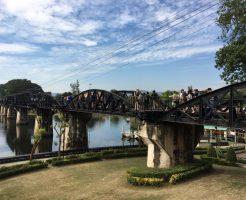 タイ旅行4日目:カンチャナブリで「戦場に架ける橋」「泰緬鉄道」「アルヒル桟道橋」などの観光スポットを巡る