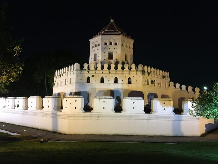 タイ バンコク カオサン通り周辺 プラスメン砦