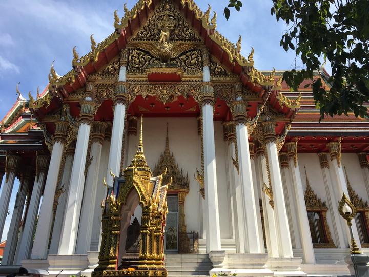 タイ旅行 ワット・ラー・チャプラ 日本人納骨堂がある