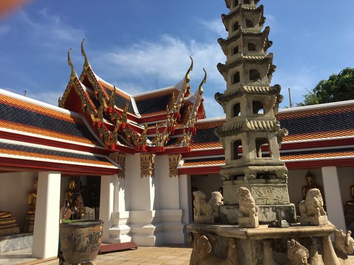 バンコク観光 ワット・ポー 涅槃像