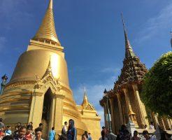 タイ旅行2日目:1/1は王宮周辺 三大寺院を参拝。ワット・プラケオ、ワット・ポーは入場料タダ♪