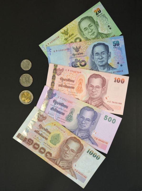タイのお金:タイバーツ お札とコイン