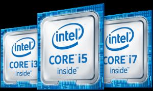 モバイルノートPC に必要なCUP インテル Core i5以上