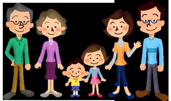 家族の扶養人数