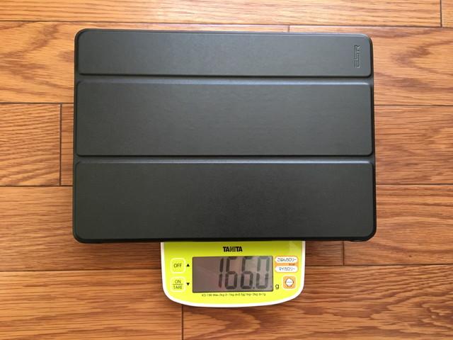 iPadケース:キーボードなし重量