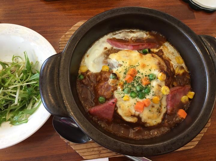焼きカレー専門店「伽哩本舗」日替わりランチ