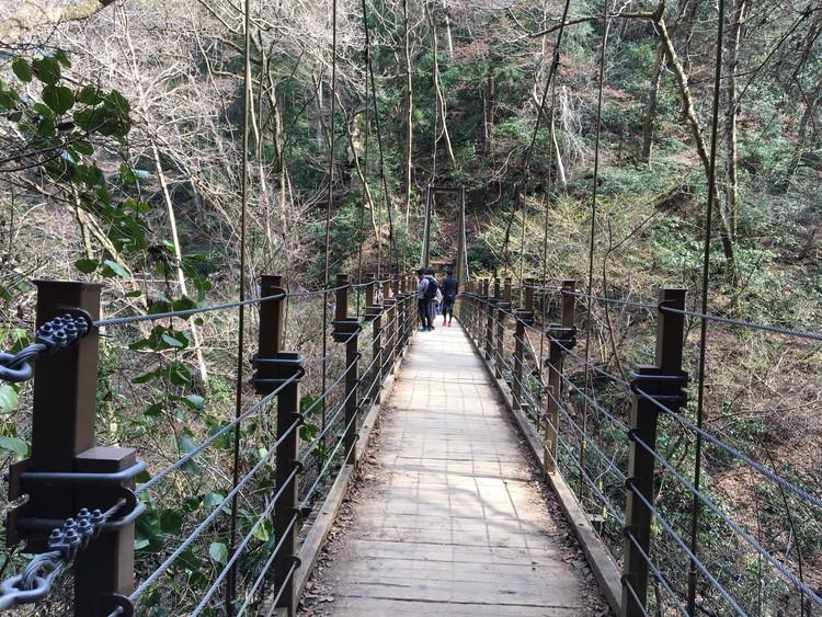 みやま橋(吊り橋)
