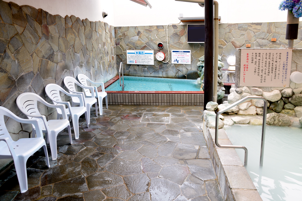 湯乃泉 草加健康センター 水風呂
