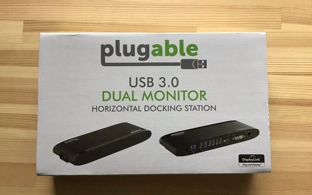 Plugableドッキングステーション レビュー~ノートPCとデュアルディスプレイ&周辺機器をまとめてスッキリ接続!