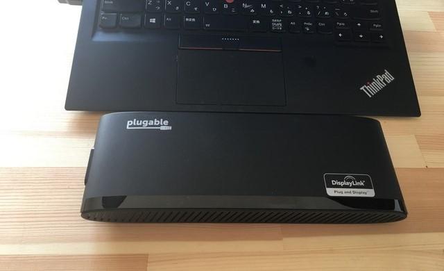 Plugable USB3.0 デュアルディスプレイ 水平ドッキングステーション: